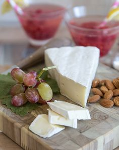 Channel a classic French fete by inviting guests to snack on Parisian-inspired favorites.  Take a trip to your local cheese shop and ask them to put together 5-6 different kinds of French cheeses.  Serve them alongside a fresh baguette, some almonds and red grapes. #ParisEscape #ParisCalling #5onFriday