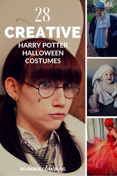 We compiled these 28 easy DIY Harry Potter Halloween costumes for your inspiration! #harrypotter #halloween #halloweencostumes