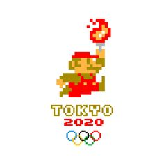Satirical (and artistic) responses to the 2020 Tokyo Olympics logo scandal 2020 Olympics, Tokyo Olympics, Summer Olympics, Olympic Idea, Olympic Games, Olympic Crafts, Olympic Logo, Perler Bead Mario, 8 Bits