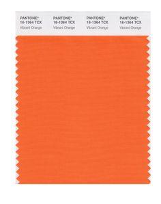 Pantone Smart Swatch 16-1364 Vibrant Orange