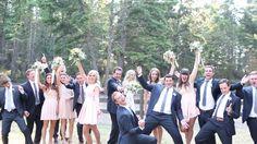 Navy and blush wedding montana Blog | Amanda Madeline Studios
