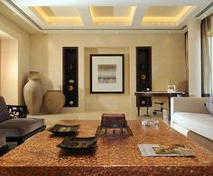Each Presidential Suite is thematically designed to reflect the elements of earth, wind, fire and water - the four elements of life, central to ancient Egyptian philosophy, and offers unrivalled luxury and privacy, occupying a vast 301 square metres.