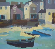 Harbour Boats   Richard Tuff