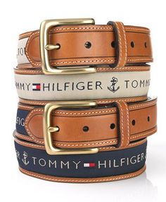 Tommy Hilfiger Belt. Like the nautical feel