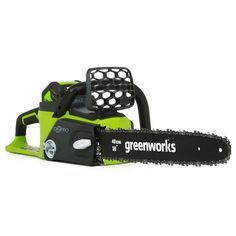 Greenworks Digipro-Brushless 16 in. 40-Volt Lithium-Ion Cordless Chainsaw with 4.0 Ah Battery and Charger