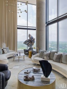 Квартира в Техасе по дизайну Келли Уирстлер, 370 м²   AD Magazine