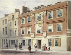 Winchester Street, 1850 (w/c on paper) Wall Art & Canvas Prints by Thomas Hosmer Shepherd