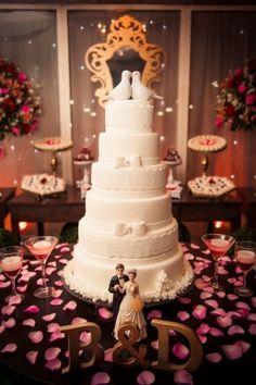 Casamentos reais 2016: o bolo e a mesa de doces