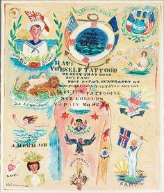 Tatueringar (Tattoos) by Gösta Werner
