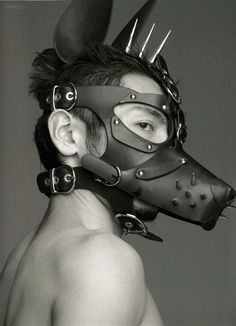 Desert Dogs Mask in tan would look good on pam Headdress, Headpiece, Steampunk Mask, Post Apocalyptic Fashion, Dog Mask, Leather Mask, Models, Headgear, New Trends