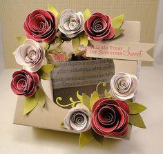 Elegant Single Cupcake Box - A Photo Tutorial