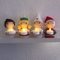 New Crochet Patterns Free Christmas Ornaments Ideas Crochet Christmas Decorations, Crochet Christmas Ornaments, Crochet Decoration, Christmas Knitting, Christmas Crafts, Christmas Patterns, Christmas Christmas, Crochet Gratis, Crochet Amigurumi