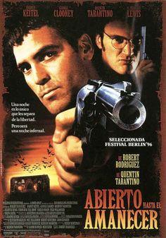 Quentin Tarantino y Robert Rodríguez. Dos hermanos, Seth y Richard, son los criminales más peligrosos de América. Escapar no les será nada fácil y menos con el FBI y la policía de Texas pisándoles los talones. Después de tomar como rehenes a los miembros de la familia Fuller, irán directos a Méjico en caravana. Una vez atravesada la frontera, pasarán la noche en la Teta Enroscada, que, aparentemente, es un delicioso local.