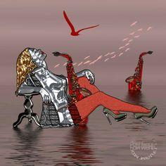 Red sax par Abelard