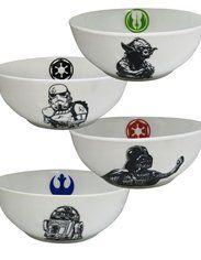 Star Wars Symbols Ceramic Bowl 4-Pack