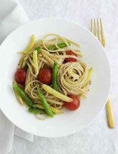 Linguini Grilled Summer Vegetable Salad