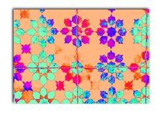 Wandbild Flower Play 120 x 80. Blumen in farbenfroher Anordnung, fesselnd schön.