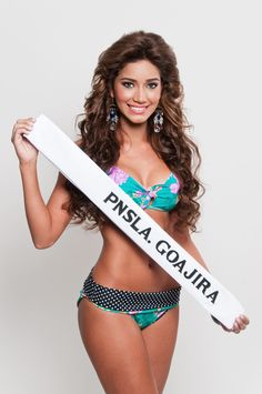 Miss Turismo Peninsula Goajira, Beronika Martinez de 19 años y 1,69 mts @beromartinezff