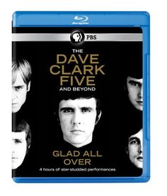 Dave Clark Five & Beyond: Glad All Over [Blu-ray]  The Dave Clark Five started the rock n roll British invasion that changed the world, having already knocked The Beatles out of the #1 position in the UK. Watch newly-filmed interviews with Tom Hanks, Paul McCartney, Elton John, Bruce Springsteen, Stevie Wonder, Dionne Warwick and many more, as they share their memories of how the music of the 60s changed their lives forever. Featuring 4 hours of star-studded performances! Brand Name:..