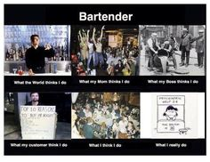 For our fellow food and bevvers. Psychiatric Help, Bartenders Guide, Bar Quotes, Shaken Not Stirred, Hey Bartender, Recipe Mix, What The World, Love My Job, True Stories