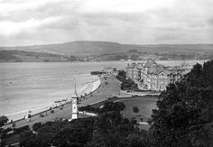 Photo of Exmouth, from the Beacon 1922 - Francis Frith