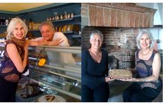 Kiki takes the cake in Umbria.   New taste treats hit Panicale.