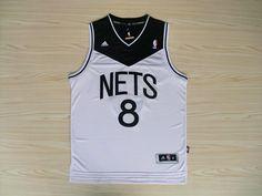 deron williams jersey brooklyn nets white black Nets Jersey 0d8d5be17