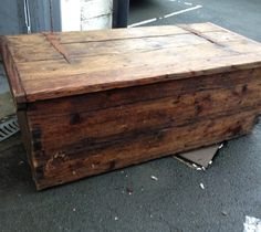Victorian Pine Trunk - perfect as multifunctional decor, coffee table, storage, emergency seating
