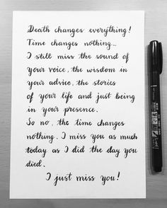 Letter for my father in heaven