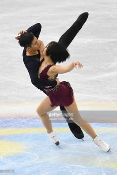 Wenjing Sui and Cong Han of China compete in the Pairs short program during the ISU Junior & Senior Grand Prix of Figure Skating Final at Nippon Gaishi Hall on December 7, 2017 in Nagoya, Japan.