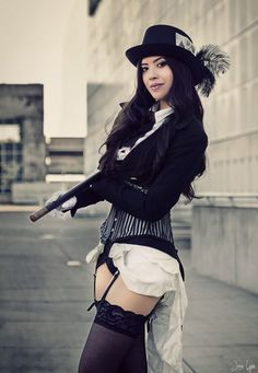 steampunk zatanna cosplay by sphingosine