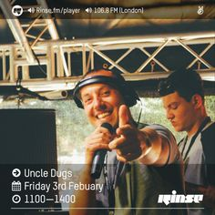 Rinse FM Podcast - Uncle Dugs - 3rd February 2017 by Rinse FM on SoundCloud
