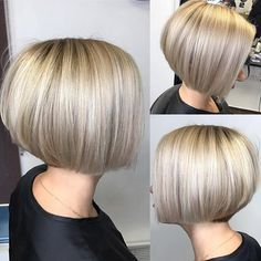 Bobbedhaircuts On Instagram What Is Not To Like About This Short Bob Perfect Cut And The Color Devine Credit Shinkarenko Hairs Have Your Hair