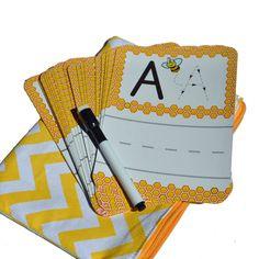 Dry Erase Alphabet Cards