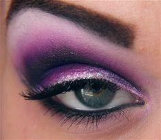 #purple #cut crease