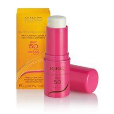 Sunscreen Stick SPF 50 - Stick solaire protecteur, SPF 50, haute protection - KIKO MAKE UP MILANO