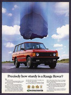 Range Rover Classic. More