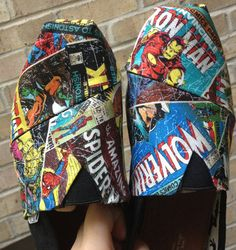 Hey, I found this really awesome Etsy listing at http://www.etsy.com/listing/151741762/handmade-marvel-comic-toms