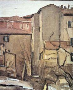 Giorgio Morandi : cortile via Fondazza