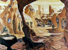 Paperwalker: Production Artwork Pieces (1966-1967): Planet Of The Apes