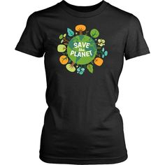 T-shirt - Save The Planet Ecology T-shirt