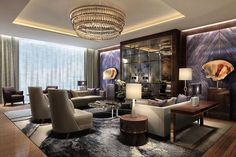 100 Luxury Living Room Ideas_51