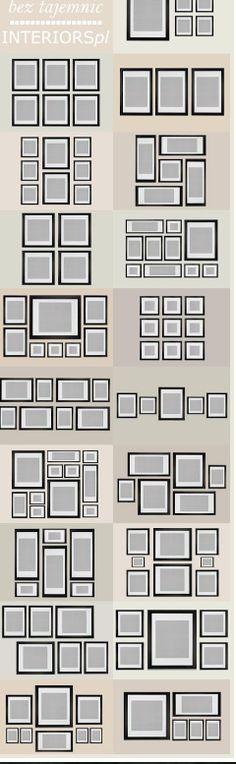 How to arrange art to hang