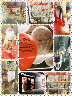 #dolcemania #palloncini #puglia #swettable #natale #vetrina #regalo #present #sweet #christmas #xmas #balloons #italy #italia #madeinitaly