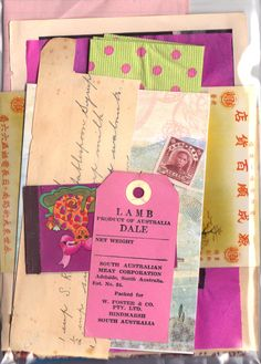 A5 paper pack - a wonderful and amazing lucky dip.