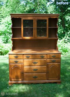 Brown Hutch - Before