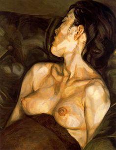 Lucian Freud - Femme enceinge 1961.