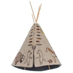 Coral and Tusk - small tipi
