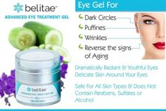 December 2014 - Washington, CT - With puffiness under the eyes increasing with age, people 50 years and older often require the help of anti-aging products and cosmetic surgery to help reduce its effects. Eye Treatment, Puffy Eyes, Eye Gel, Eye Cream, Dark Circles, Cool Eyes, The Help, Anti Aging, Web History
