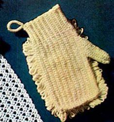 Crocheted Dusting Mitt | Crochet Patterns - free crochet pattern